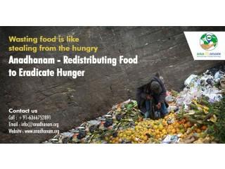 Solving Hunger through Technology - Anadhanam
