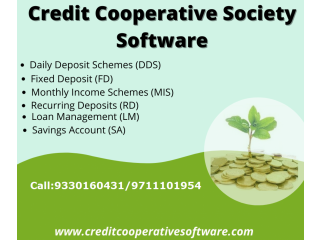 Software for Credit Cooperative Society in West Bengal