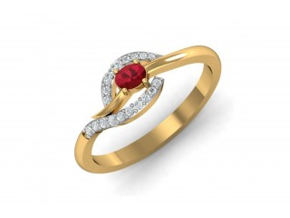 Buy Tory Ruby & Diamond Ring Online