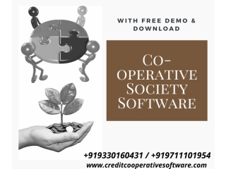 Credit co-operative society software Free Download